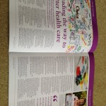 O&G magazine double page WS